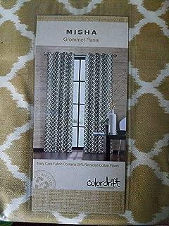 Misha Grommet Panel Colorfit 52 x 95 Latte