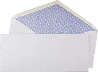 AmazonBasics #10 Security Tinted Business Envelopes - 4 1/8-Inch x 9.5-Inch, 500 Pack