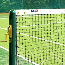 Vermont 2.5mm Tennis Net [33ft Singles] | Compatible with All Standard Tennis Posts – Net Wire Included