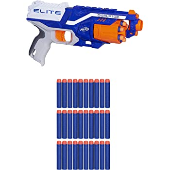 Nerf Strike Elite Disruptor - Blaster & 30 Dart Refill Combo
