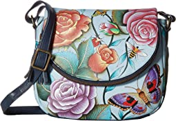 Anuschka Handbags 547 Medium Flap-Over Convertible