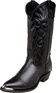 Best lizard leather boots Reviews