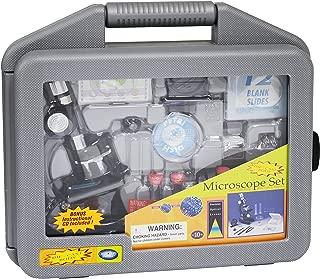 Elenco Edu-Toys Edu-Science Microscope Set in Carrying Case