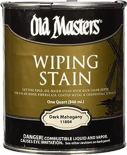 OLD MASTERS 11804 WIP Stain, Dark Mahogany, 1 qt