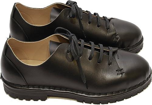 DIZZINESSS Chaussures de Ville à Lacets pour Femme Noir Noir Noir