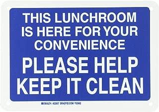 Best keep breakroom clean sign Reviews