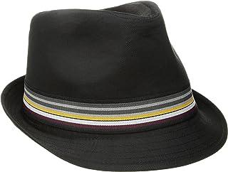 U.S. Polo Assn. Men's Cotton Twill Fedora Striped Grosgrain Hat band