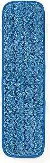 Rubbermaid Commercial Products R050650 Frange Humide en Microfibres Hygen 40cm Bleu Paquet de 10