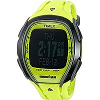 Timex Unisex Ironman Sleek 150 Tap Screen 100m Green Resin Watch