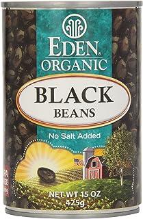 Eden, Organic, Black Beans, No Salt Added, 15 oz