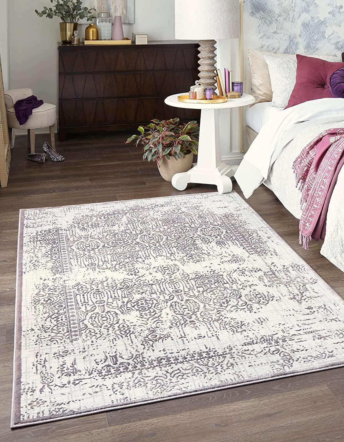 Unique Cheap sale Loom Aberdeen Collection Traditional Textured SEAL limited product Tone Vintag