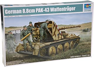 Trumpeter 1/35 German Ardelt 1 8.8vm Pak 43 Waffentrager Self-Propelled Gun Model Kit