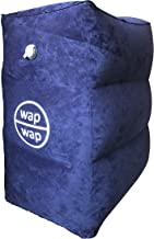 Travel Pillow for Kids, wapwap Travel Accessories Inflatable Footrest Travel Bed for Airplanes, Toddlers Bed Box on Flight, Using Cabin Overhead Air Vent to Inflate