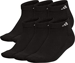 adidas Men's Athletic Cushioned Low Cut Socks (6-Pair)