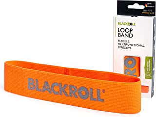 BLACKROLL Loop Band Resistance Skin-Friendly Fabric Fitness Band, Different Resistances (Soft, Medium, Strong), Individual...