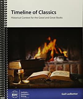 Timeline of Classics - Historical Context for the Good and Great Books - SKU 2865863