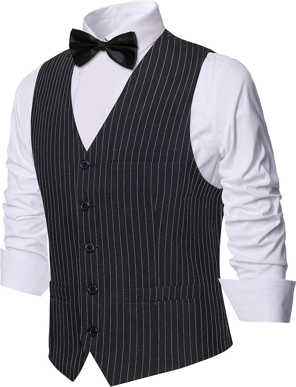 BABEYOND Mens Vintage Suit Vest Clas Business Max 74% OFF Slim 5 ☆ very popular Fit
