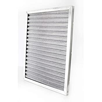 Reusable 24x30x1 Electrostatic Washable Permanent A//C Furnace Air Filter Silver Frame Lifetime Warranty