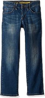 LEE 男童运动超舒适修身牛仔裤