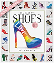 365 Days of Shoes Picture-A-Day Wall Calendar 2021