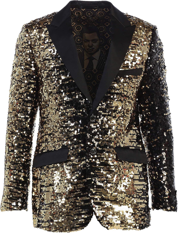 Men's Premium Fashionable Sequin Blazers-Many Colors