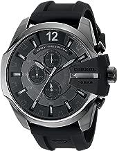 Diesel Men's Mega Chief Black Silicone Watch DZ4378