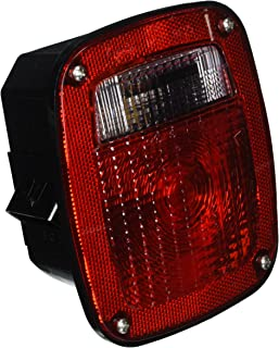 Grote 53650 SuperNova Three-Stud Metri-Pack LED Stop Tail Turn Light with Double Connector (w/ License Lamp)