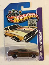 Hot Wheels 2013 Super Treasure Hunt '73 Ford Falcon XB Spectraflame Goldenrod Real Rider Wheels