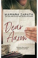Dear Aaron (English Edition) eBook Kindle