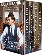 Princes of Valdoria Complete Set: Four Sweet and Wholesome Royal Romances