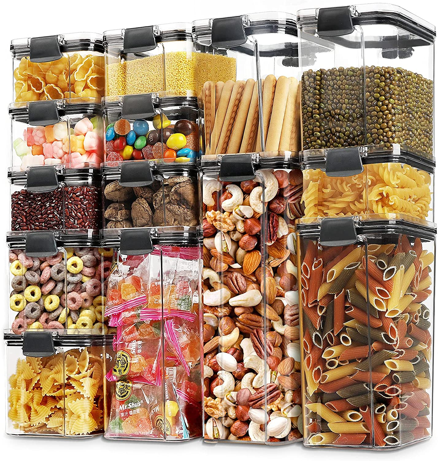 14 Topics on TV Pack Airtight Food Storage Container Plastic Weekly update Free BPA Ce Set