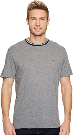 Lacoste - Short Sleeve Semi Fancy Jersey Tee - Regular Fit