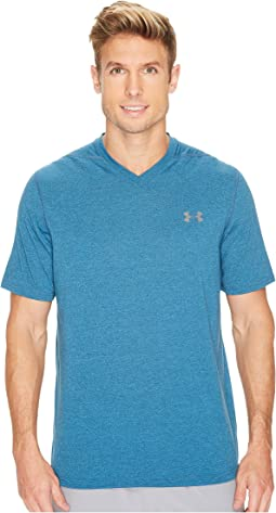 UA Threadborne V-Neck Stripe