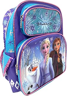 "Disney Frozen 2 Elsa & Anna Kids Backpack 12"" Small Bag- 19213"