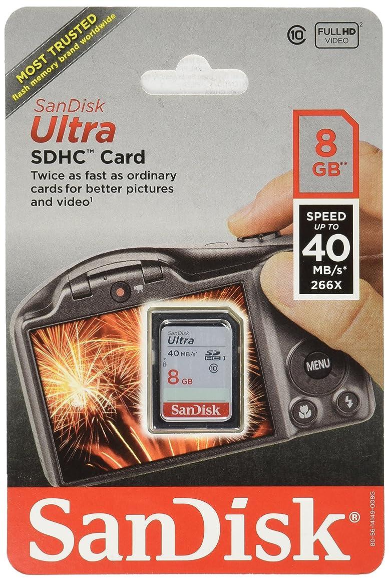 SDKSDU008G - SANDISK SDSDU-008G-A46 Ultra SD (TM) Memory Card (8GB)