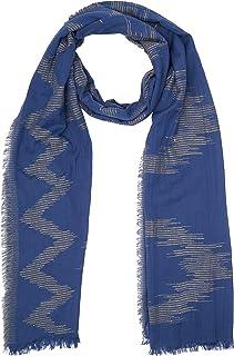 Pepe Jeans LAMU Scarf Bufanda, Azul (Steel Blue 563), 1 (Talla del fabricante: 000) para Hombre
