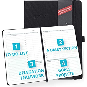 2020-2021 Academic Weekly/Monthly Planner by Action Day - All-in-ONE Layout Design,to Do Lists,Goals,Projects,Dated Diary/Calendar,Time Management - Makes It Easy for You to Get Things Done,8x11, PRO