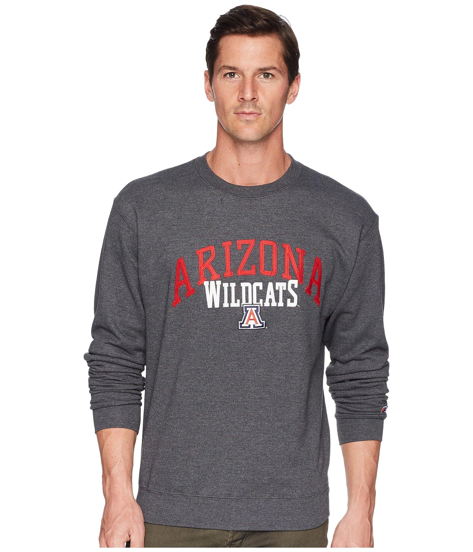 Buzo o Chaqueta Deportiva para Hombre Champion College Arizona Wildcats Eco® Powerblend® Crew  + Champion en VeoyCompro.net