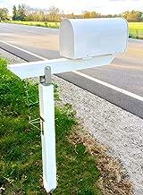 DIY Plow Resistant Mailbox Post Hardware Kit - Stainless Steel - Premium