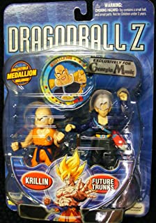 Dragonball Z Convention Exclusive Action Figure Krillin and Future Trunks 2Pa...