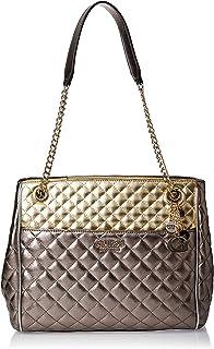 GUESS Women's Satchel Handbag, Gold - MG758110
