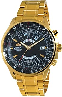 Orient Sports Automatic Multi-Year Calendar Gold Watch EU070