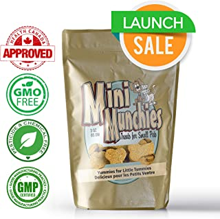 Hemp Oil Dog Treats - All Natural Calming Pet Superfood & Health Supplement - Rich in Omega-3,6,9 & Vitamins A,B,C, & E - NON GMO - Health Canada Approved - Aids with Dogs Separation Anxiety & Stress