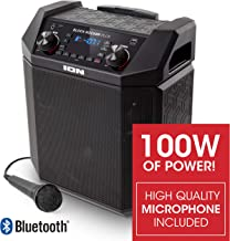 ION Audio Block Rocker Plus   100W Portable Speaker, Battery Powered with Bluetooth,..