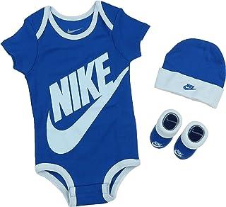 2bd7d5b2d85b5 Nike Ensemble 3 pi egrave ces Futura avec logo pour b eacute b eacute s  gar ccedil ons (0 ndash 6 nbsp mois