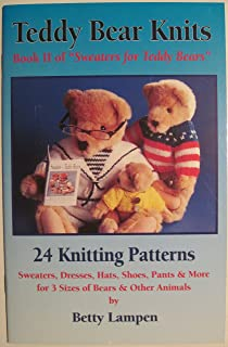 teddy bear sweater knitting pattern