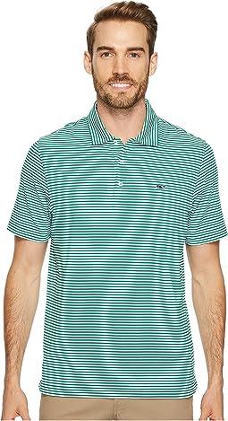 Vineyard Vines Golf - Winstead Stripe Sankaty Performance Polo