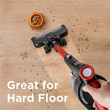 EUREKA Cordless Vacuum Cleaner, Hight Efficiency for All Carpet and Hardwood Floor LED Headlights, Convenient Stick and Handh