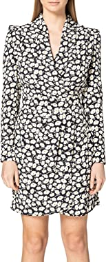 Morgan Robe Cache Cœur Drappée Renna Casual Dress Femme