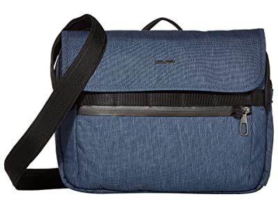 Pacsafe Metrosafe X Anti-Theft Messenger Bag (Dark Denim) Handbags